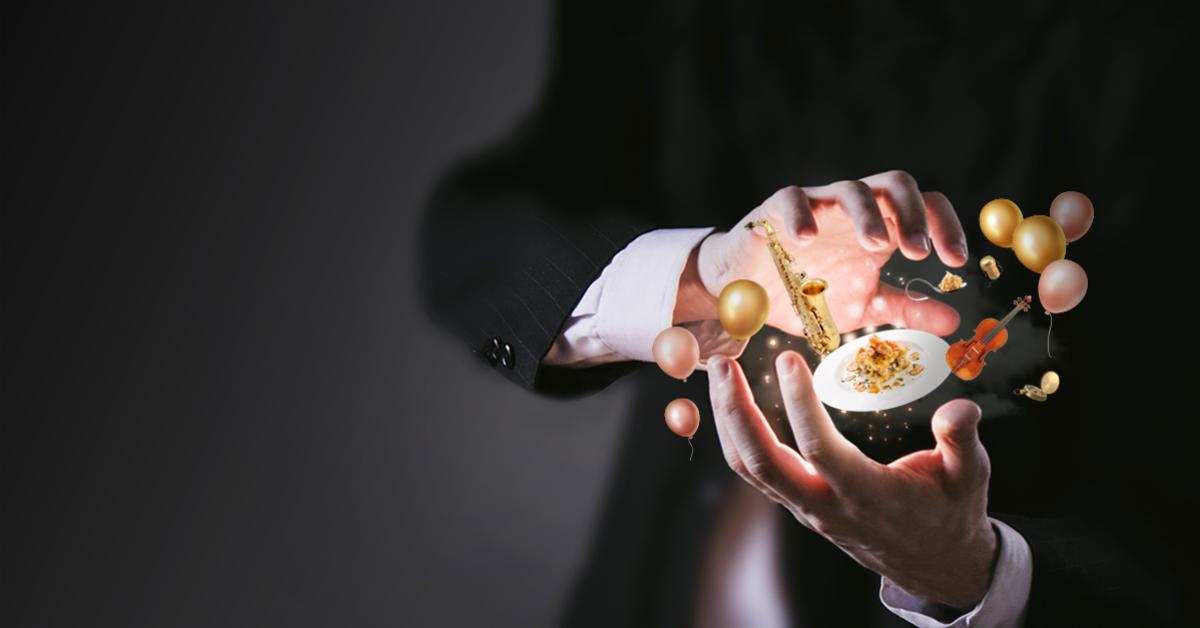 Slider magia, creatividad, gastronomía